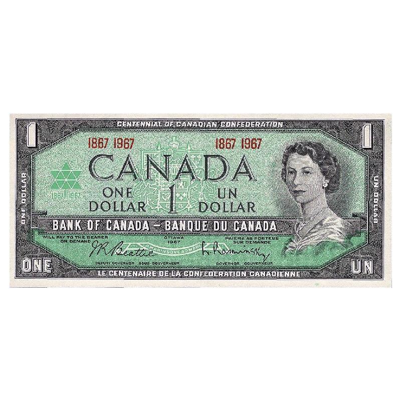 1967 (1867-) Canadian 6-Coin Confederation Centennial