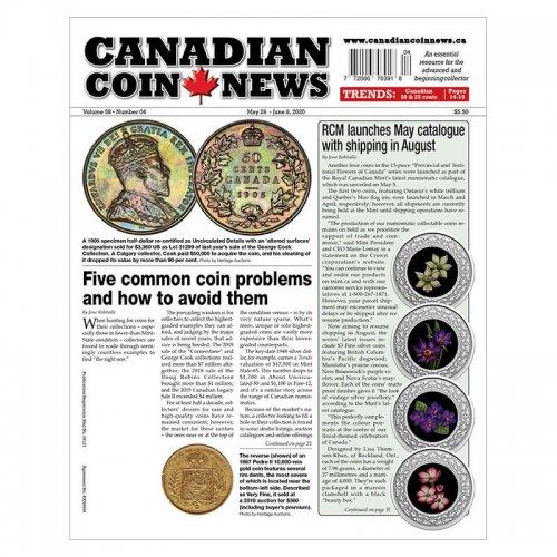 2020 Canadian Coin News Vol 58 #04, May 26 - Jun 8