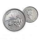 2000 Canada Millennium Series 25-cent Wisdom (Brilliant Uncirculated)