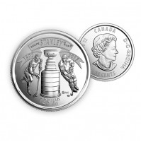 2017 Canada 125th Anniversary of The Stanley Cup® 25-cent (Brilliant Uncirculated)