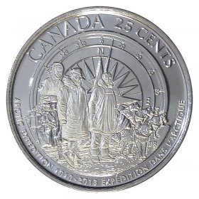 B175X CANADA 2013 QUARTER ARCTIC EXPEDITION WHALE MINT SEALED COIN