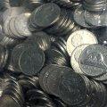1963-1981 Canadian 5-Cent Beaver 100% Nickel 5 lb (2.3 kg) Bulk Circulated Coin Lot