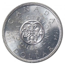 1964 Canada 6 Coin Proof-Like Set Cent Quarter Silver Half Dollar Quebec PF PL