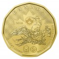 2016 Canadian $1 Olympic Lucky Loonie Dollar Special Wrap Coin Roll