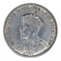 1935 Canadian $1 Voyageur/25th Anniv Commemorative Silver Dollar Coin (VF - EF )