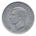 1949 Canadian $1 Newfoundland Commemorative Silver Dollar Coin (VF - EF)
