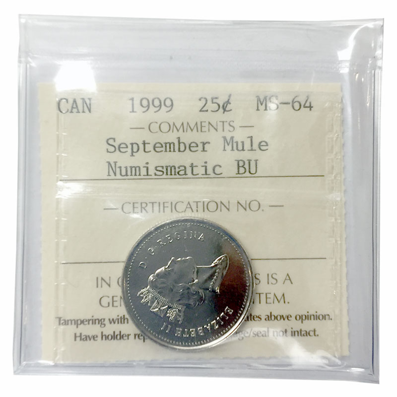 2018 Canada Classic design 25 cent quarter from PL set mint sealed
