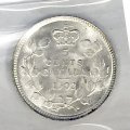 1902 Canadian 5 Cents Small Silver Coin ICCS Graded MS-65