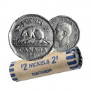 1946 Canada 5 Cents Nickel Roll (Circulated)