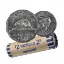1947 Canada 5 Cents Nickel Roll (Circulated)