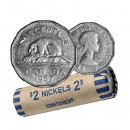 1957 Canada 5 Cents Roll (Circulated)