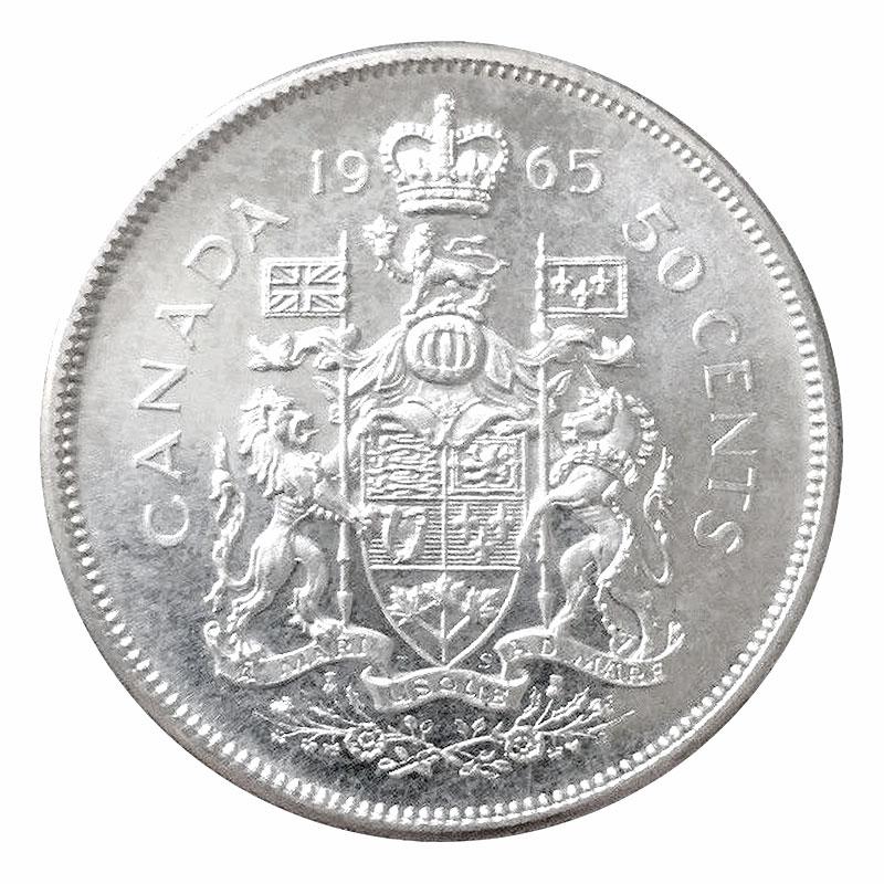 1965 CANADIAN SILVER DOLLAR