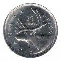1969 Canadian 25-Cent Caribou Quarter Original Coin Roll