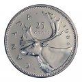 1984 Canadian 25-Cent Caribou Quarter Original Coin Roll