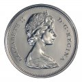 1985 Canadian 25-Cent Caribou Quarter Coin (Brilliant Uncirculated)