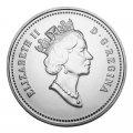 1991 Canadian 10-Cent Bluenose Schooner Dime Original Coin Roll