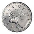 1993 Canadian 25-Cent Caribou Quarter Original Coin Roll