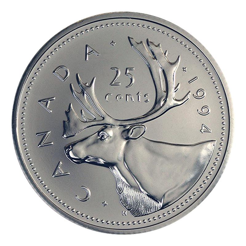 2000 Canada Quarter Graded as Specimen From Original Set