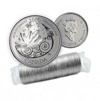 2000 Canada Millennium Series 25-cent Achievement Original Coin Roll