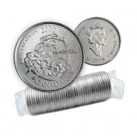 2000 Canada Millennium Series 25-cent Creativity Original Coin Roll