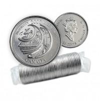 2000 Canada Millennium Series 25-cent Ingenuity Original Coin Roll