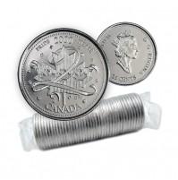 2000 Canada Millennium Series 25-cent Pride Original Coin Roll