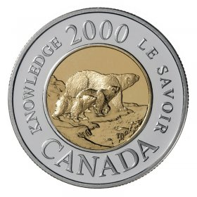 2000 Canadian $2 Path of Knowledge Toonie Coin (Brilliant Uncirculated)