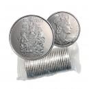 2002 P Canada 50 Cent Circulation Original Coin Roll - Golden Jubilee of Queen Elizabeth II