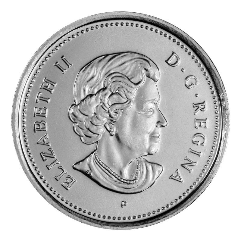Canada 2003wp Prooflike Quarter Canada Twenty-Five Cent Caribou Winnipeg 2003w