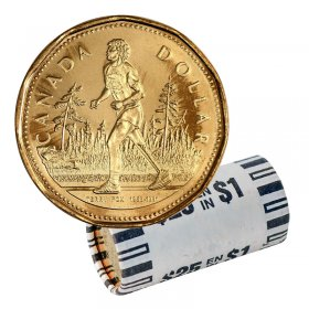 2005 Canadian $1 Terry Fox Loonie Dollar Original Coin Roll
