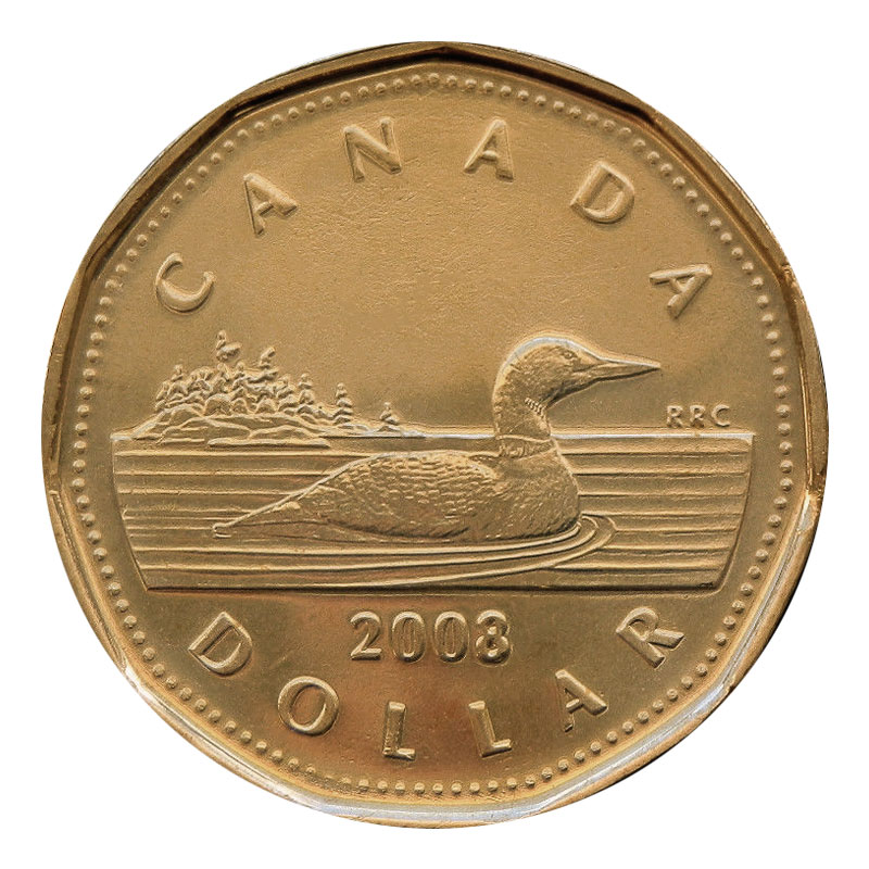 $1 Lucky Loonie BU RCM 2006 From a new roll