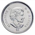 2008 Canadian 5-Cent Beaver Nickel Original Coin Roll