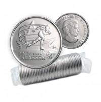 2009 Canada Golden Moments 25-cent Cindy Klassen 2006 Original Coin Roll (Non-Coloured)
