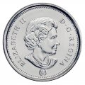2010 Canadian 5-Cent Beaver Nickel Original Coin Roll