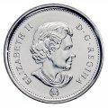 2011 Canadian 5-Cent Beaver Nickel Original Coin Roll
