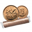 2011 MAGNETIC Canada 1 Cent Small, Penny Original Coin Roll