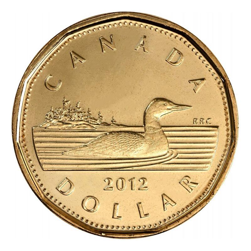 Uncirculated Loonies 1 Dollar 2013 Specimen