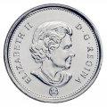 2012 Canadian 5-Cent Beaver Nickel Original Coin Roll