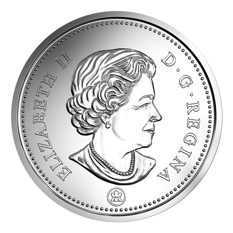 2012 Canadian 50 Cent Coat Of Arms Half Dollar Coin Brilliant Uncirculated