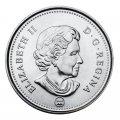 2013 Canadian 25-Cent Caribou Quarter Original Coin Roll