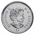 2013 Canadian 5-Cent Beaver Nickel Original Coin Roll