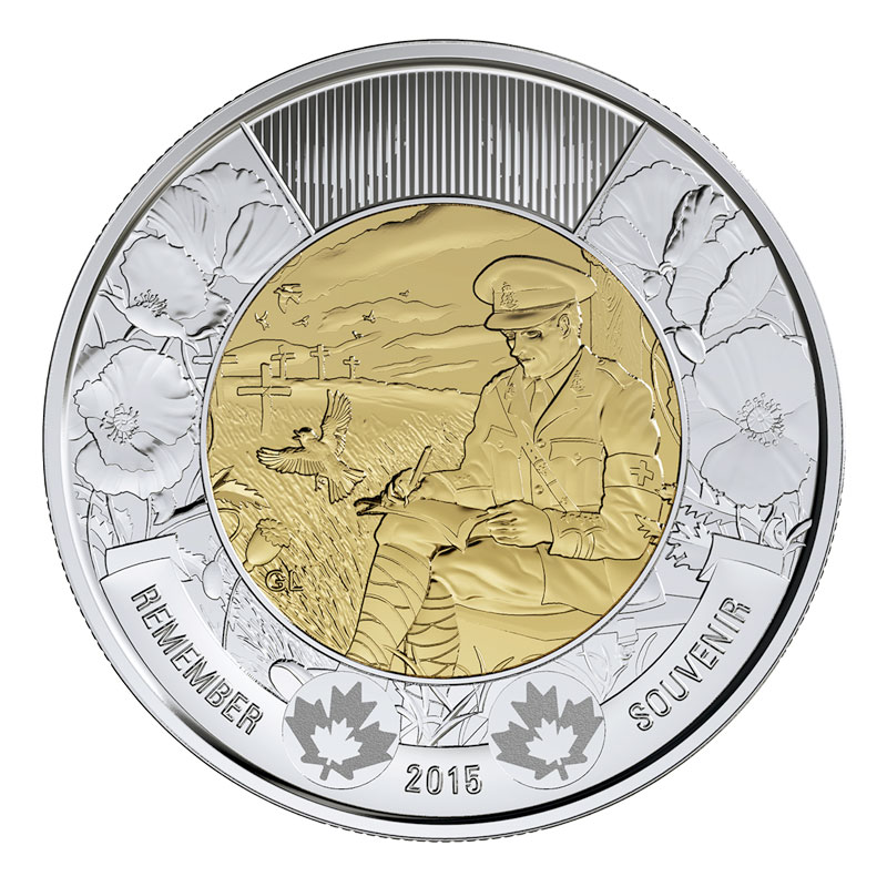 Canada Toonie 2 Dollars -Knowledge- Canadian Coin 2000 Circulated