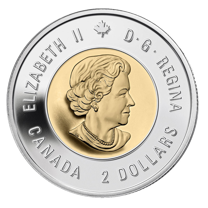 2015 Canadian $2 Toonie MACDONALD in BU Condition BRILLIANT UNCIRCULATED