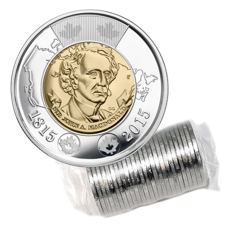 Canada War of 1812 Circulation Quarter 25 Cents $2 Toonie Collector Card No Coin