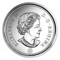2016 Canadian 5-Cent Beaver Nickel Original Coin Roll