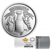2017 Canada 125th Anniversary of The Stanley Cup® 25-cent Special Wrap Coin Roll