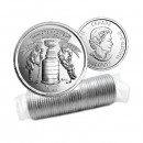 2017 Canada 125th Anniversary of The Stanley Cup® 25-cent Original Coin Roll