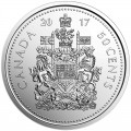 2017 Canadian 50-Cent Coat of Arms Half Dollar Classic Special Wrap Coin Roll