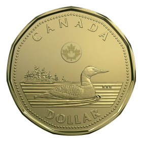 2018 Canadian $1 Common Loon Dollar Coin (Brilliant Uncirculated)