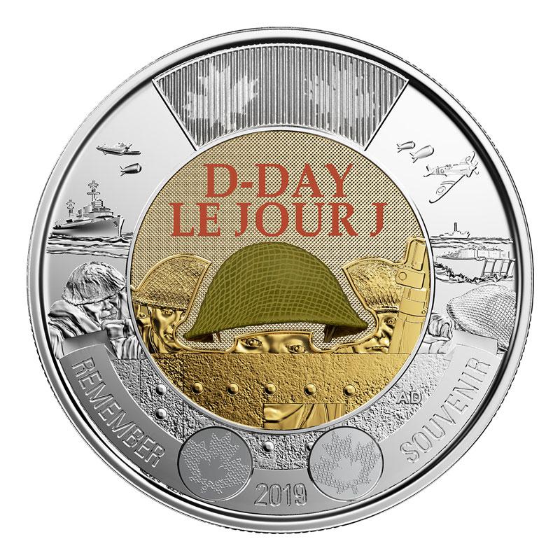 $2.00 1998 Canadian Specimen Toonie